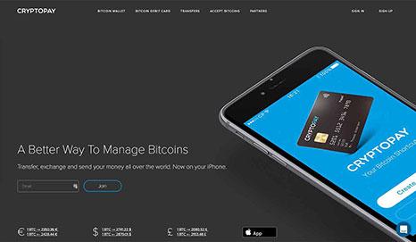 CryptoPay Screenshot