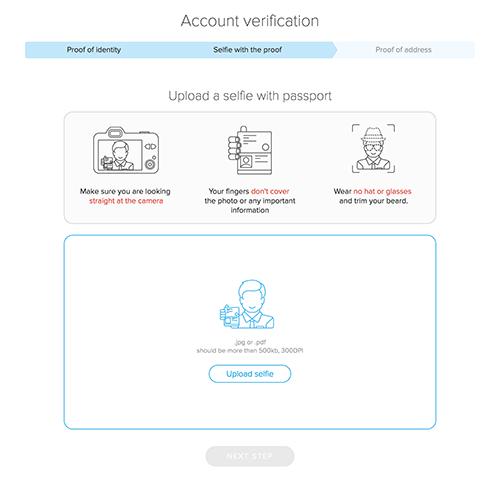 Cryptopay Verification Process
