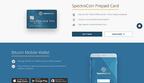 SpectroCoin Screenshot 2