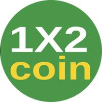 1X2 Coin Logo