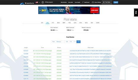 MinerGate Screenshot 2