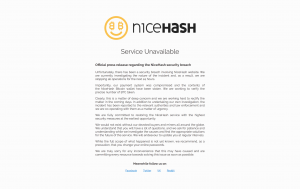 NiceHash Security Breach