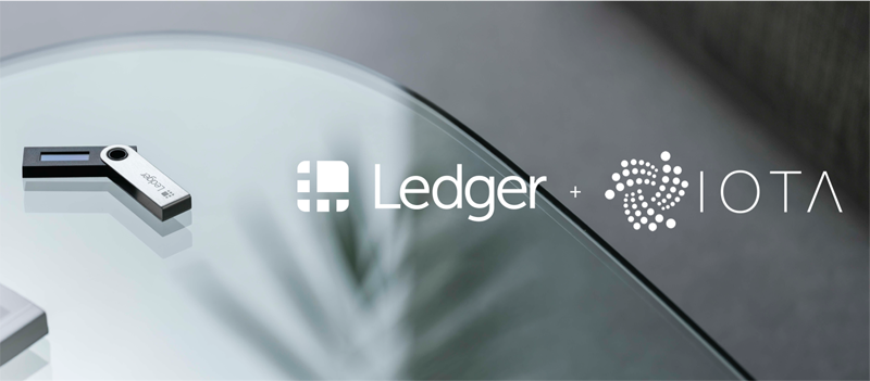Ledger now supports IOTA