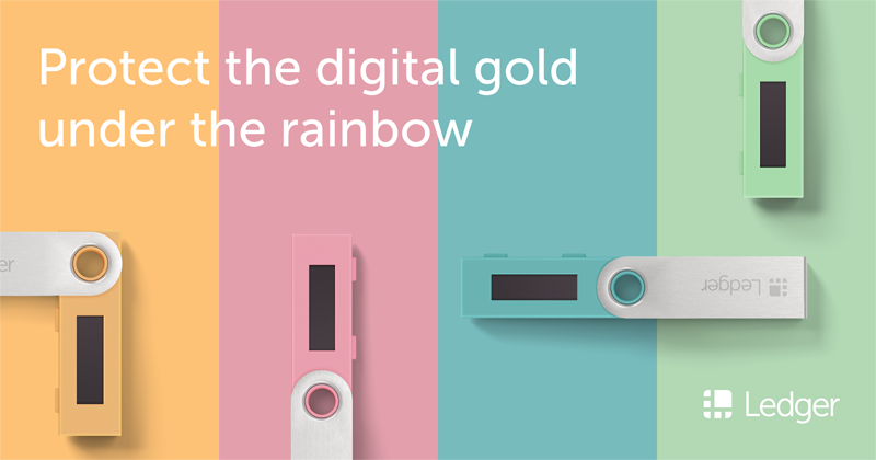 New Ledger Nano S Color