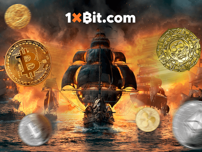 "1xBit Lets You Win Free Crypto Through the ""Freebooter Treasure"" Tournament"
