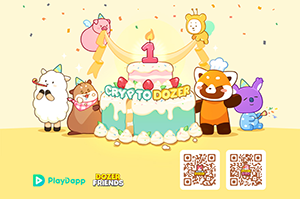 Top Blockchain Game CryptoDozer celebrates 1 year of live service with a $50,000 giveaway