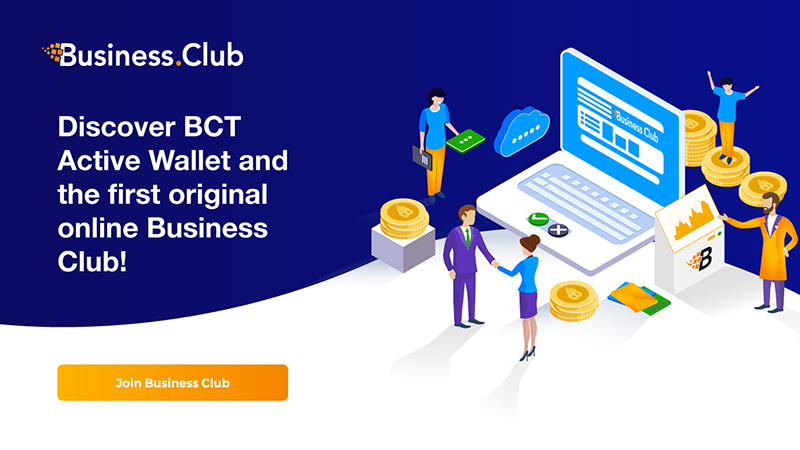 Business.Club - The Genuine Cryptocurrency Wallet with Integrated Social Network Which Will Issue a Debit Card for You