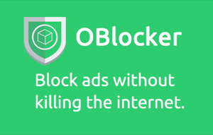 oBlocker allows users to block ads and pay publishers