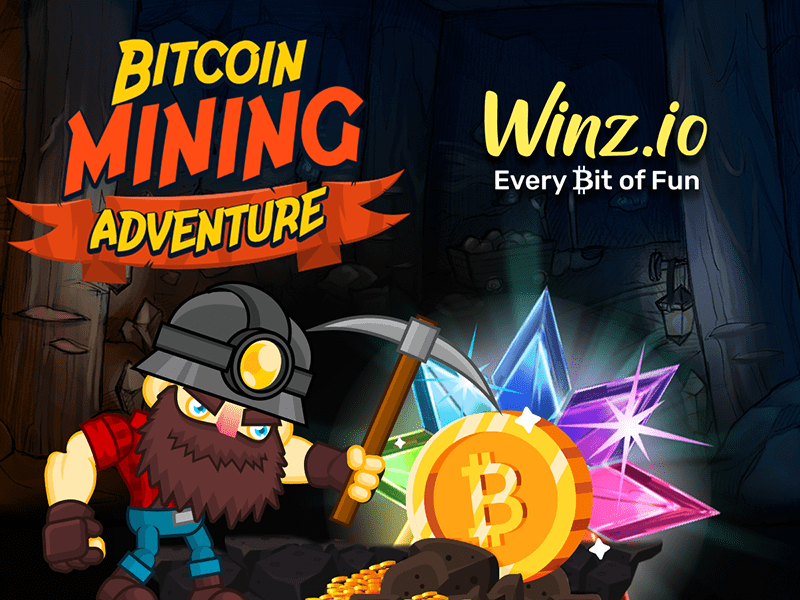 Winz Announces Bitcoin Mining Adventure Winner; Another Bitcoin Ready to Be Won!